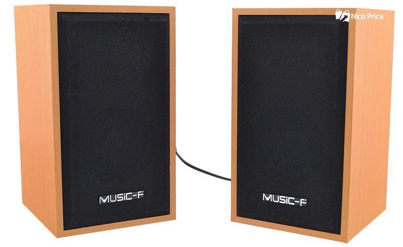 Music F Original 3D Multimedia Speakers
