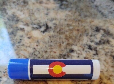 Lip Balm Colorado Flag (peppermint with SPF 15)