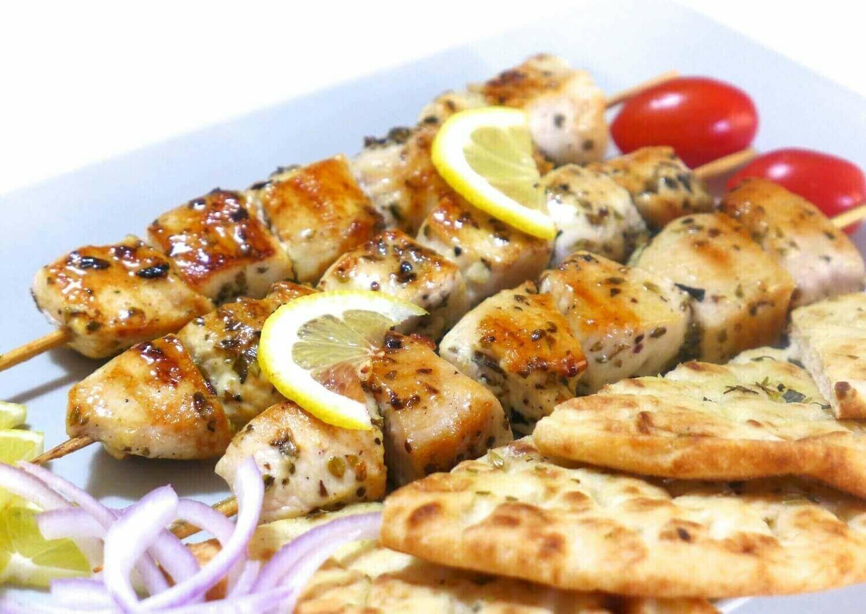 Marinated Chicken Souvlaki