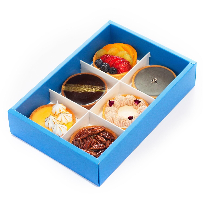 6 Tart Gift Box (8cm)