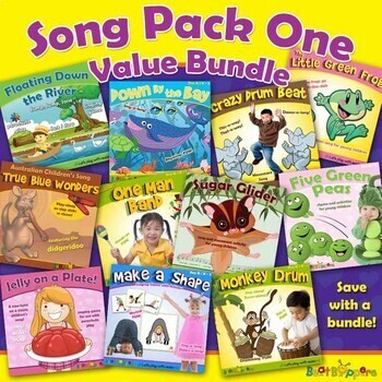EARLY CHILDHOOD MUSIC - SONG PACK VALUE BUNDLE