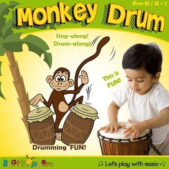 Monkey Drum - A drumming song for young children