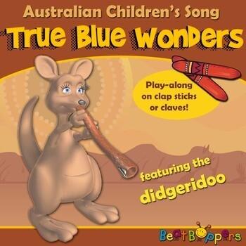 Australian Animal Song with Didgeridoo   True Blue Wonders