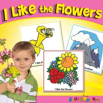 I Like the Flowers   I Love the Mountains Song and Teaching Resources