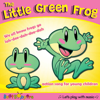 Little Green Frog Song with Actions for Young Children