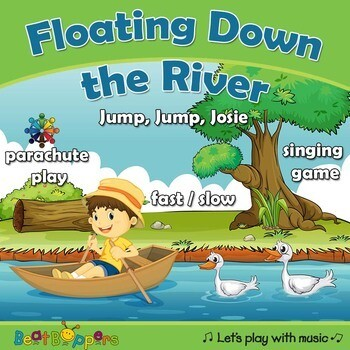 Floating Down the River - Singing Game for Young Children