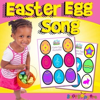 Easter Egg Song for Young Children
