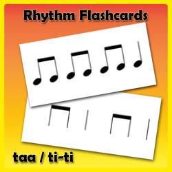 Rhythm Flashcards - Set One