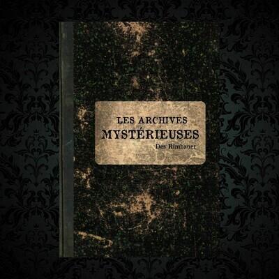 Les Archives Mystérieuses Rimbauer