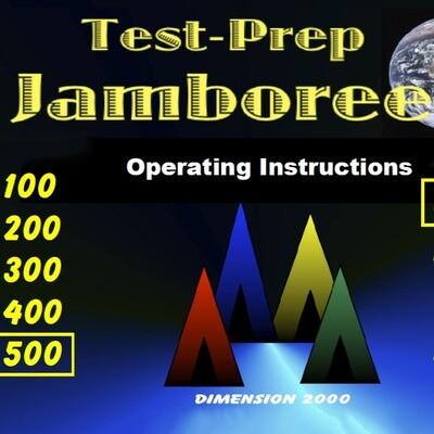 Test-Prep Jamboree (3-8 + High School)