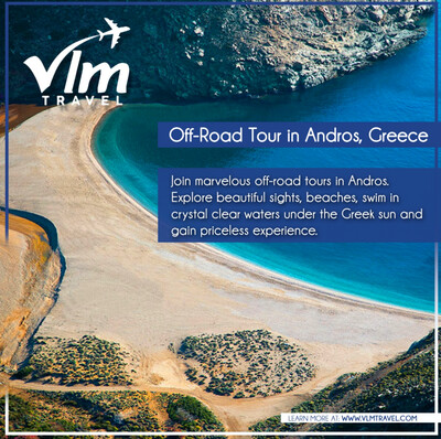 Zorkos Beach Tour in Andros
