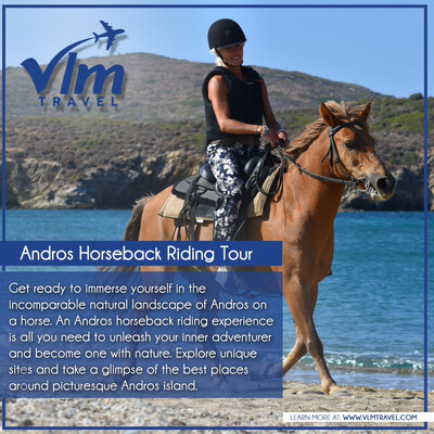 Andros Horse back Riding Tour advanced