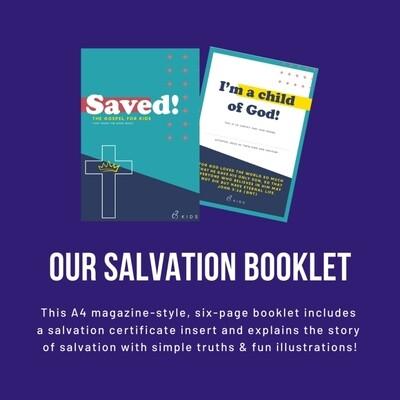Salvation Booklet x 10 copies