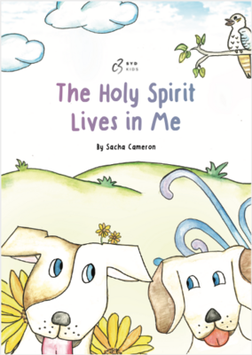 Holy Spirit in Me - Soft Cover Book