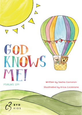 God Knows Me: Psalm 139 - Soft Cover Book