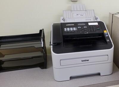 Desktop fax machine