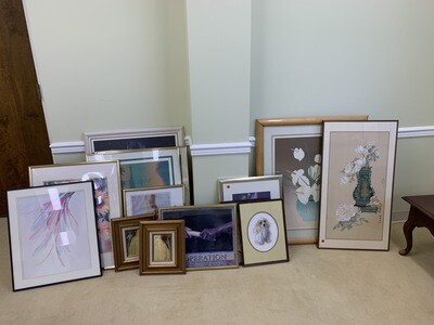 Small - large framed paintings