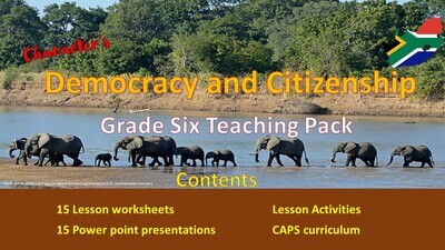 DEMOCRACY AND CITIZENSHIP TEACHING PACK
