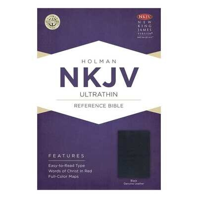 Reference Bible - NKJV Holman Ultrathin