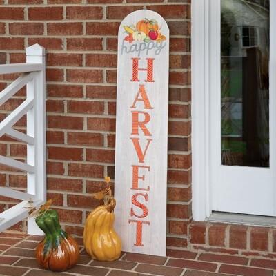 Happy Harvest Porch Sign