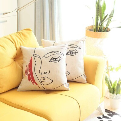 Boho Chic Printed Pillow Covers