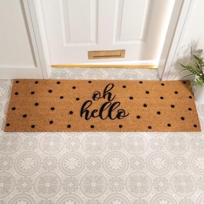 Oh Hello Spotty Patio Doormat