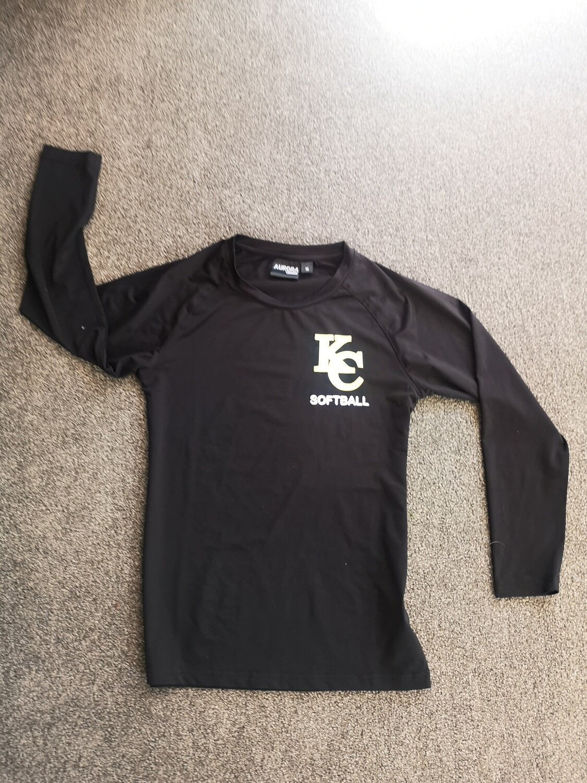 Softball long sleeve top