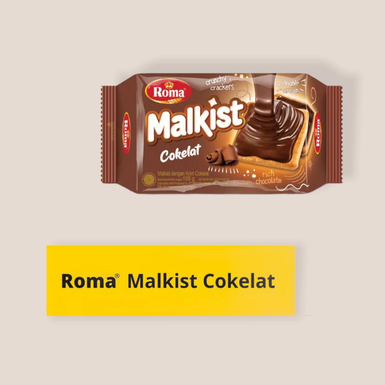 Roma Malkist Coklat