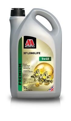 Millers Oils XF Longlife 5w40
