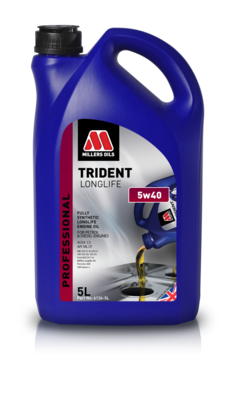 Millers Oils Trident Longlife 5w40