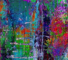 16900 Off the Grid Abstract Collage $30 per mt