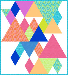 95384 End Game Quilt Pattern Fabric & template Kit $154.80