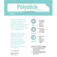 32414 Poly Stick 5 sheets $11