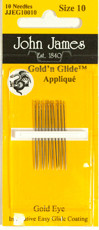 32320 Applique Needles size 10 $9.50