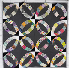 95386 Metro Rings Quilt Pattern & Fabric Kit $199.95