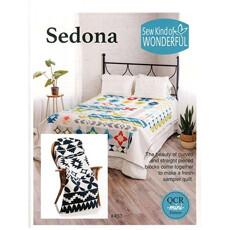 95387 Sedona Fabric Kit B & W Solids