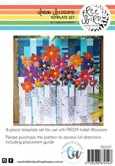 46286 Indah Blossoms Template Set $48.50