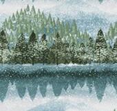 16910 Natures Window Trees Border $32 per mt
