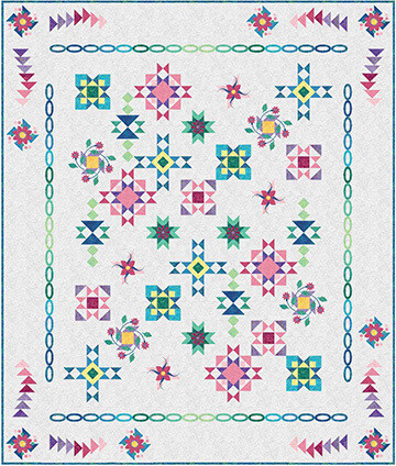 41077 North by Northwest Quilt Pattern & Rulers