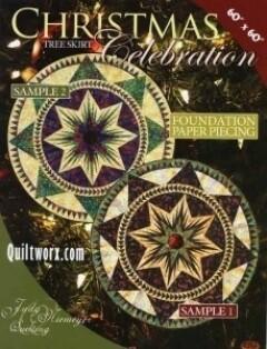43769 Christmas Celebration Tree skirt pattern & Papers $60