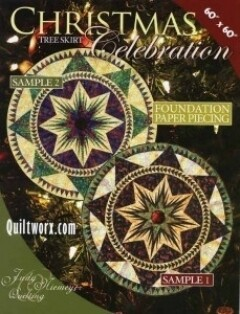 43769 Christmas Celebration Tree skirt pattern & Papers $60