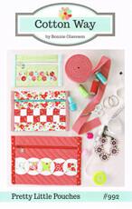 42553 Pretty Little Pouches Pattern $16