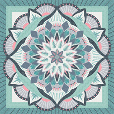 Quiltworx Technique of the Month Dinner Plate Dahlia
