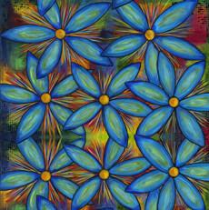 15446 Garden Brighter Blooms Azure $30 per mt