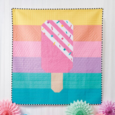 16934 Rainbow Popsicle Quit Pattern & Fabric Kit $132