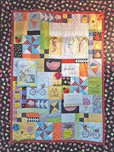95364 Hello Sunshine Book and Fabric kit $313.25