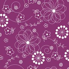 14613 Kimberbell Basics Stitch Flower Violet $26 per mt
