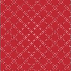 13876 Kimberbell Basics Lattice Red $28 per mt