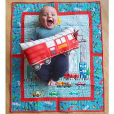 95409 City Works Quilt Fabric kit $52.95