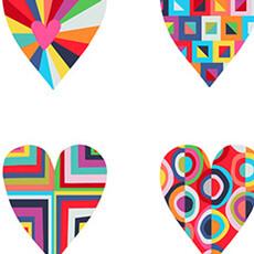 14622 Happy Hearts White $28 per mt